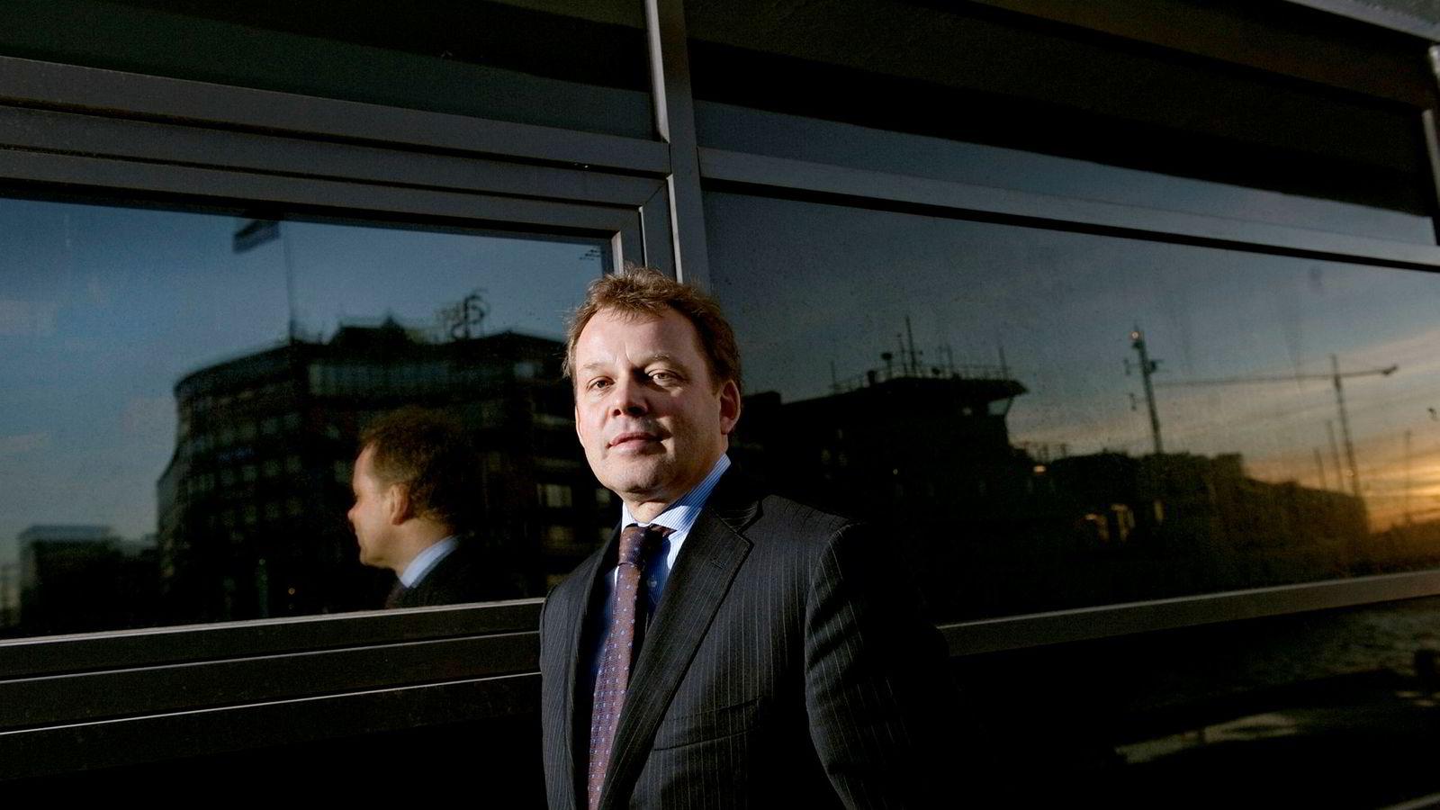 Pål Bergskaug mener en sterk avslutning på et dårlig år gir håp for fremtiden for Skagenfondene. Bildet er tatt ved en tidligere anledning. Bildet er tatt i 2008.