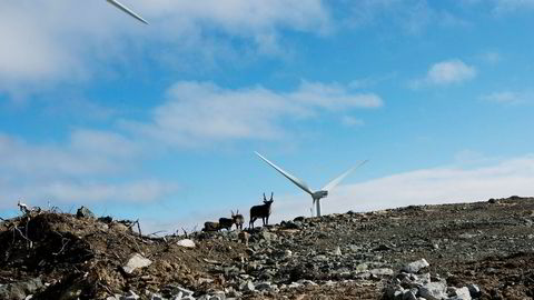 Få kommuner i Norge ønsker vindkraft.V