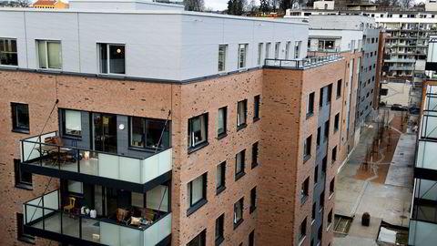Foto: Per Ståle Bugjerde. Kværnerbyen i Oslo