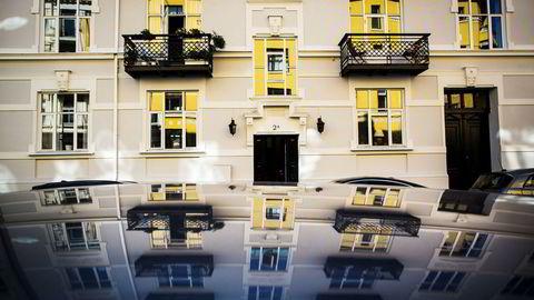 Bygård i Oslo, illustrasjonsfoto.