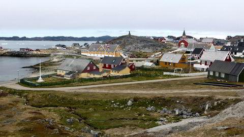 Fra Grønlands hovedstad Nuuk.