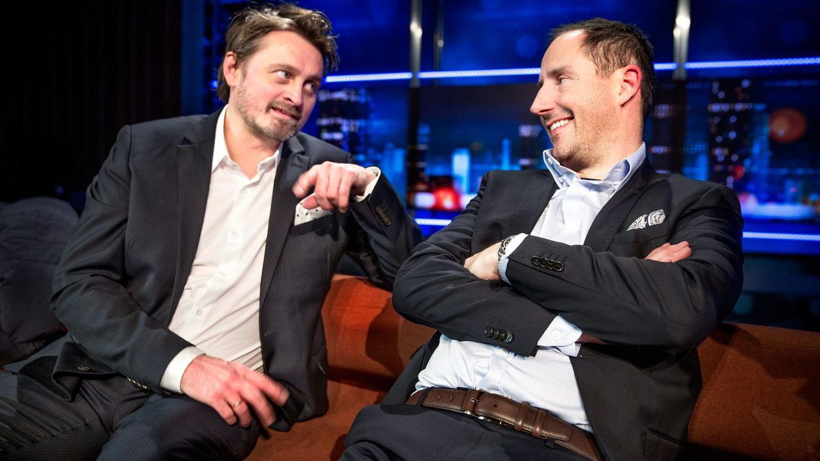 Thomas Numme (f.v.) og Harald Rønneberg har ledet «Senkveld» siden 2003. Foto: Øyvind Nordahl Næss/
