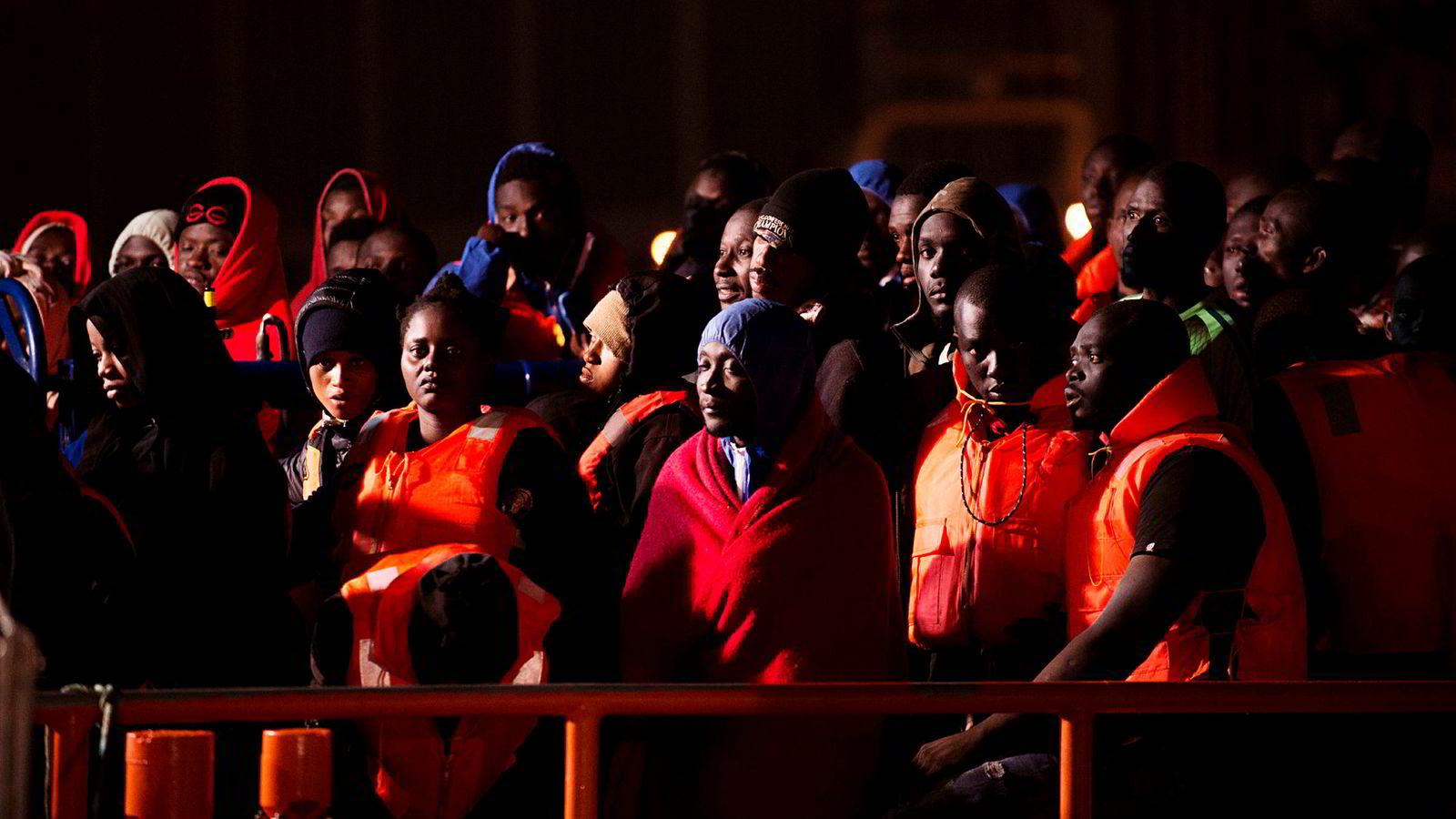 Spania er nå det viktigste landet for migrantankomster i Middelhavet, og Marokko har tatt over som det viktigste avreiselandet for flyktninger.
