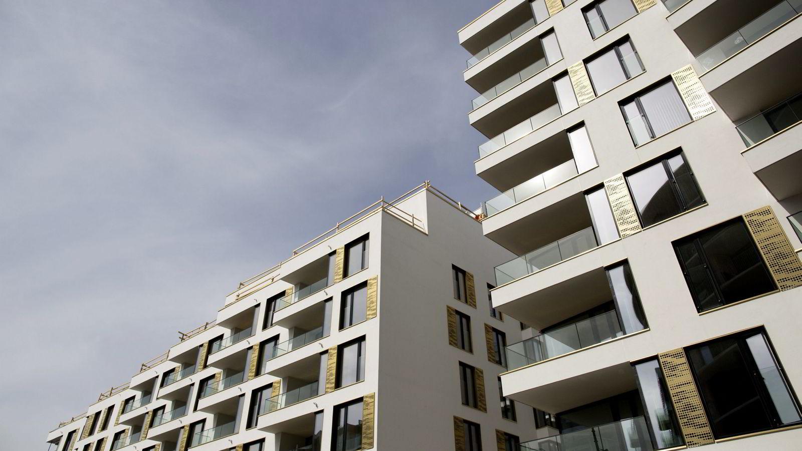 Hele 80 prosent av oss eier vår egen bolig. «Nordmenns favoritthobby er å bytte bolig med hverandre», har Venstres Sveinung Rotevatn treffende sagt det, sier forfatteren. Foto: Øyvind Elvsborg