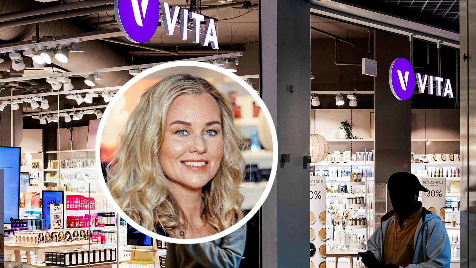 Cosmetic groups toppsjef Kristina Johansson leder snuoperasjonen i Vita og etableringen av de nye Loco-butikkene.