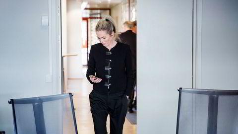 Innovasjon Norge-sjef Anita Krohn Traaseth anbefalte Andresen å se på jobber i selskapet. Foto: Per Thrana