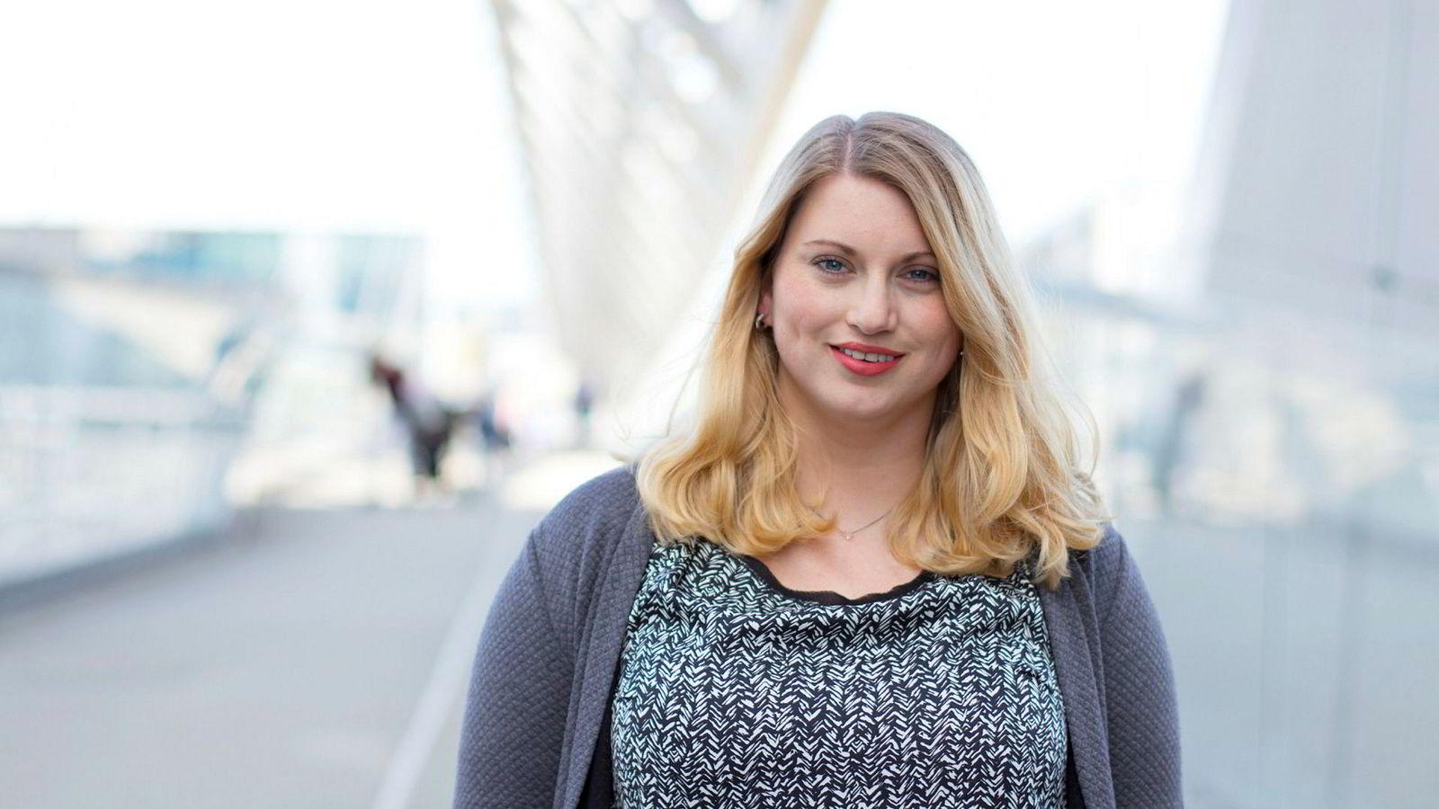 Martine Tønnessen, nestleder i KrF, velger Fremskrittsfartiet fremfor SV og Rødt.