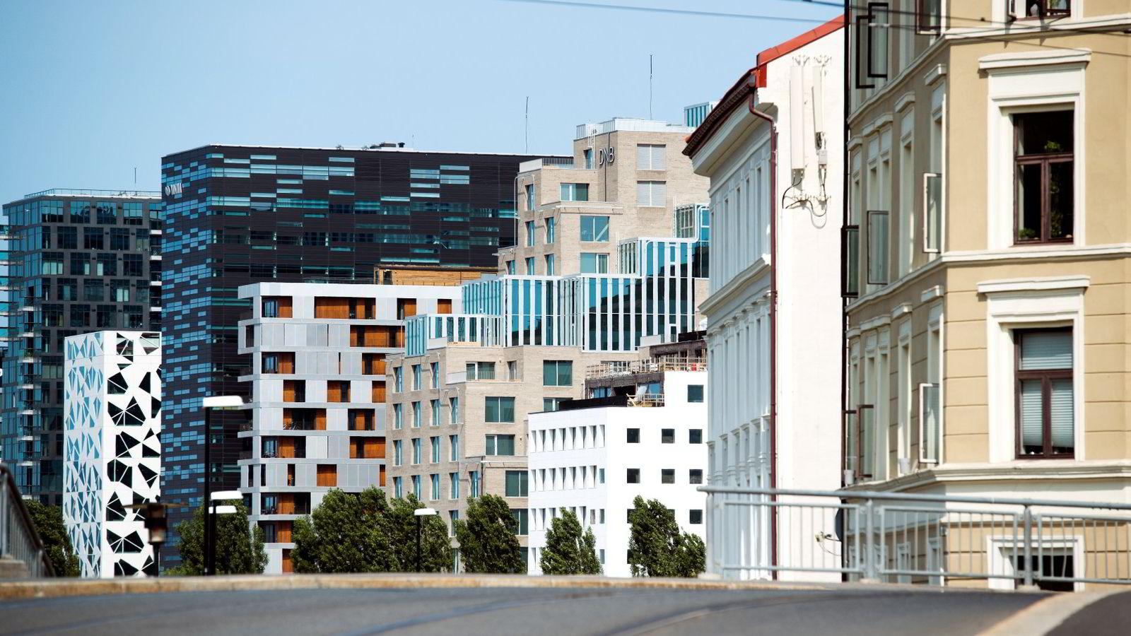 Illustrasjonsfoto, Bjørvika i Oslo.