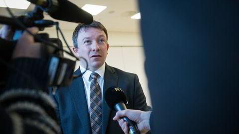 Administrerende direktør Karl Johnny Hersvik i Det norske oljeselskap. Foto: Audun Braastad /