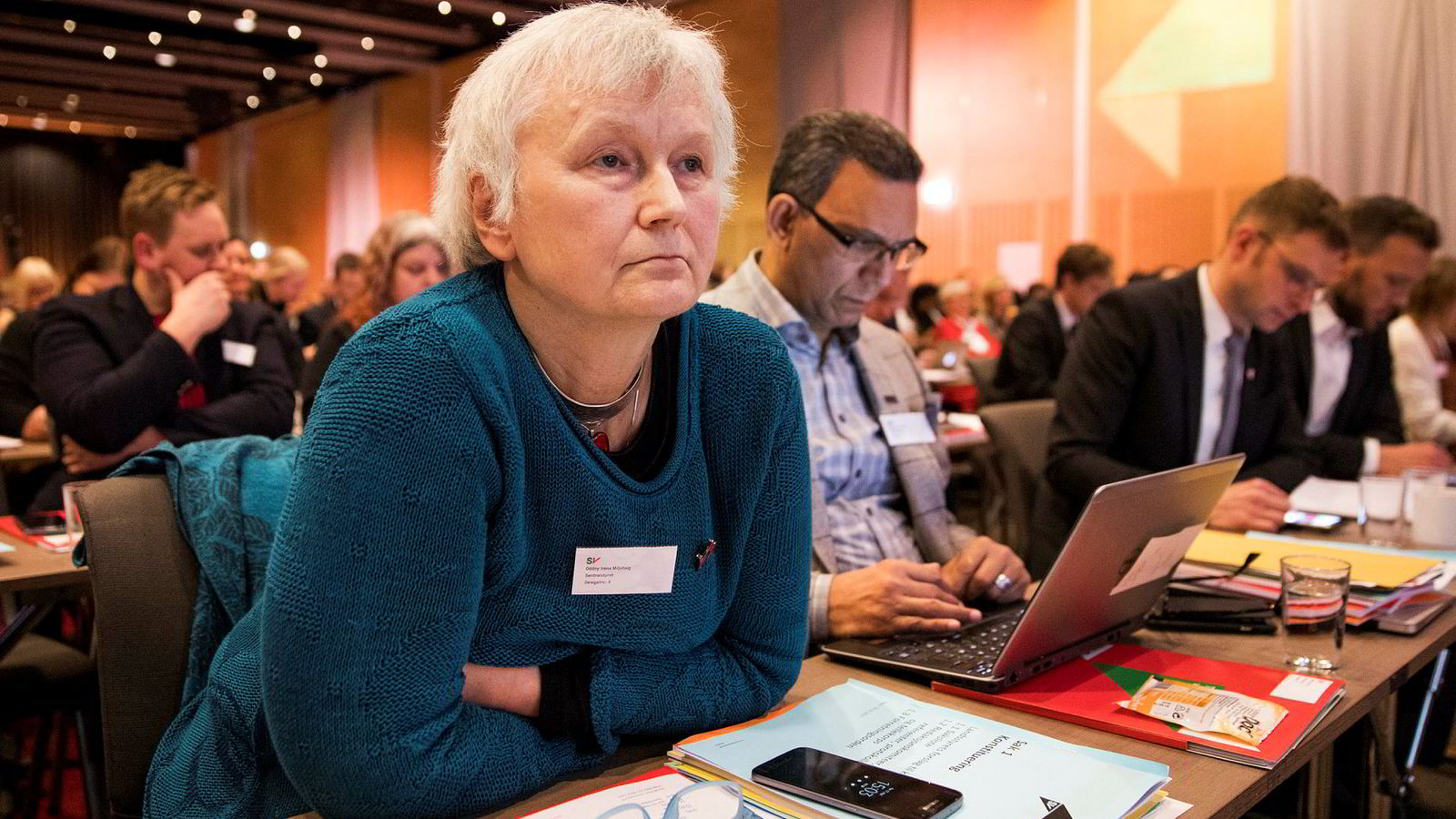 SVs Oddny Irene Miljeteig mener det er på tide at Arbeiderpartiet ser til venstre igjen.