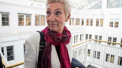 Nestleder i LO Peggy Hessen Følsvik sier den private AFP-ordningen ikke uten videre er noe offentlige ansatte vil godta.