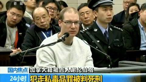 Kinesiske myndigheter er irritert på Canada etter at statsminister Justin Trudeau kritiserte dødsdommen mot kanadieren Robert Lloyd Schellenberg.
