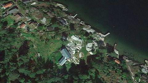 Slik så eiendommen til Tidemandsen på Siktesøya ut i 2015.