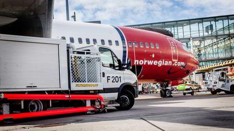 Pareto vraker Norwegian-aksjen på dagens kurser rundt 310 kroner. Foto Adrian Nielsen