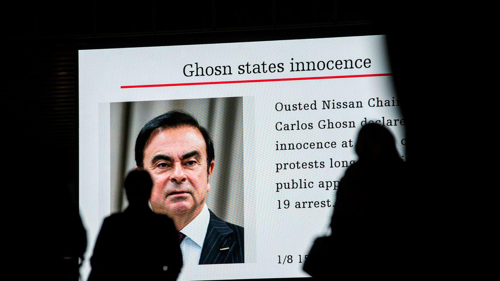 Tidligere Nissan-sjef Carlos Ghosn insisterer på at han er uskyldig. Men nå er tiltalen mot ham utvidet.