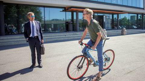 Per G. Braathen (til venstre) eier reiselivskonsernet Gunnar Grosvold leder og som passerer trekvart milliard i omsetning etter nok et oppkjøp.