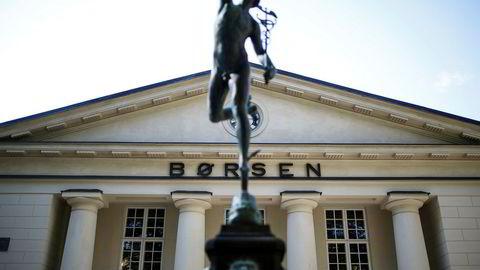 Oslo Børs. Foto: Nicklas Knudsen