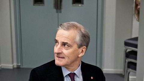 Jonas Gahr Støre var helseminister fra 2012 til 2013. Her er han på Aps halvårlige partikonferanse før jul i fjor.