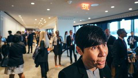 Utenriksminister Ine Marie Eriksen Søreide er mildt bekymret over at nordmenns manglende interesse for EØS.