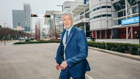 Equinors USA-sjef Hans Jakob Hegge jobber med base i Austin og Houston i Texas.