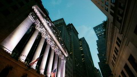New York Stock Exchange har sett bedre dager enn denne.