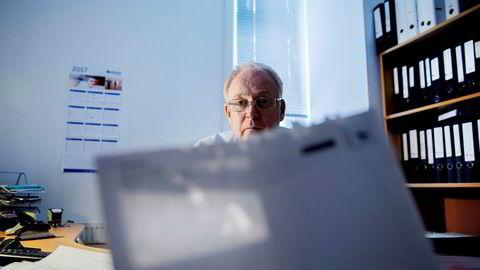 Regnskapsfører Hans Jørgen Nilsen i Traconet er fortvilet over at Oslo kemnerkontor sender konkursvarsel med B-post, og godtar ikke argumentet om at klienten har mottatt digitalt brev.