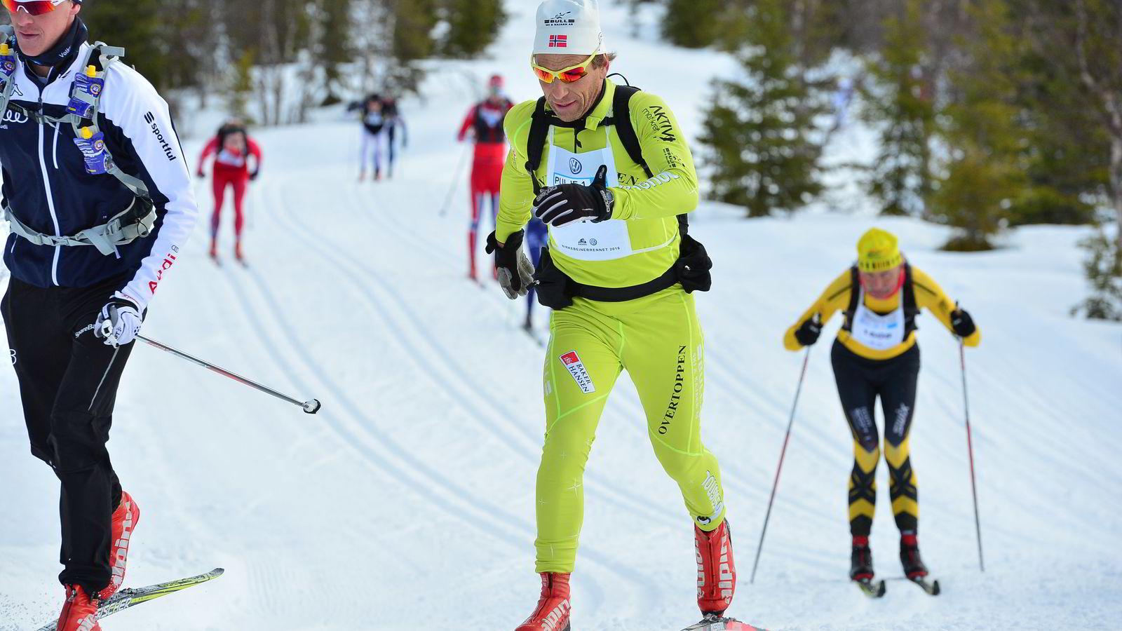 Knut Beck Engebretsen fullførte lørdag Birken uten et eneste stavtak og tok merket.