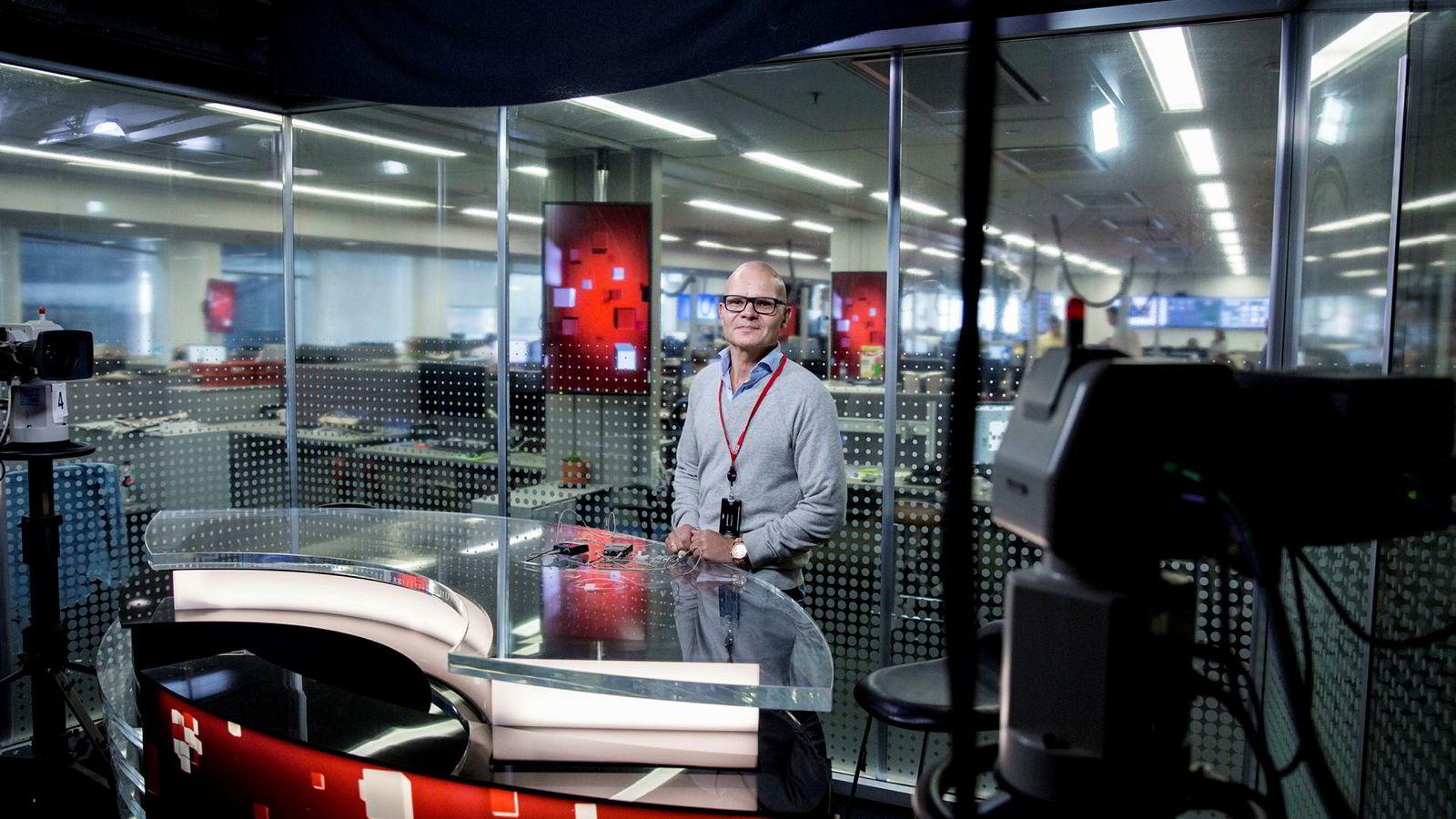 Redaksjonssjef i VGTV, Rolf Sønstelie, forteller at reklameinntektene til video på nett øker.