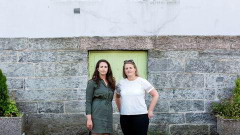 Siviløkonomistudentene Annett Leikvang Hafthun (til venstre) og Hanne Ulfsnes ved Norges Handelshøyskole har funnet at bankansatte kan overvurdere evnen til å oppdage mistenkelige transaksjoner.