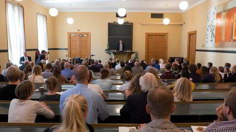 Fra Det juridiske fakultet ved Universitetet i Oslo.