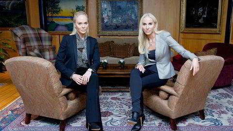 Kathrine (til venstre) og Cecilie Fredriksen er døtrene til Norges rikeste nordmann, John Fredriksen. Ifølge Kapital er han god for 114 milliarder kroner.