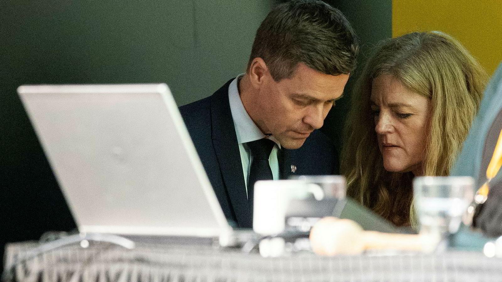 Generalsekretær Hilde Frafjord Johnson var en av de viktigste strategene for Knut Arild Hareides idé om å kaste Erna Solberg som statsminister.