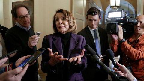 Nancy Pelosi, demokratenes leder i Representantenes hus, avviser blankt president Donald Trumps forslag for å oppheve shutdown og bygge grensesperringer mot Mexico.