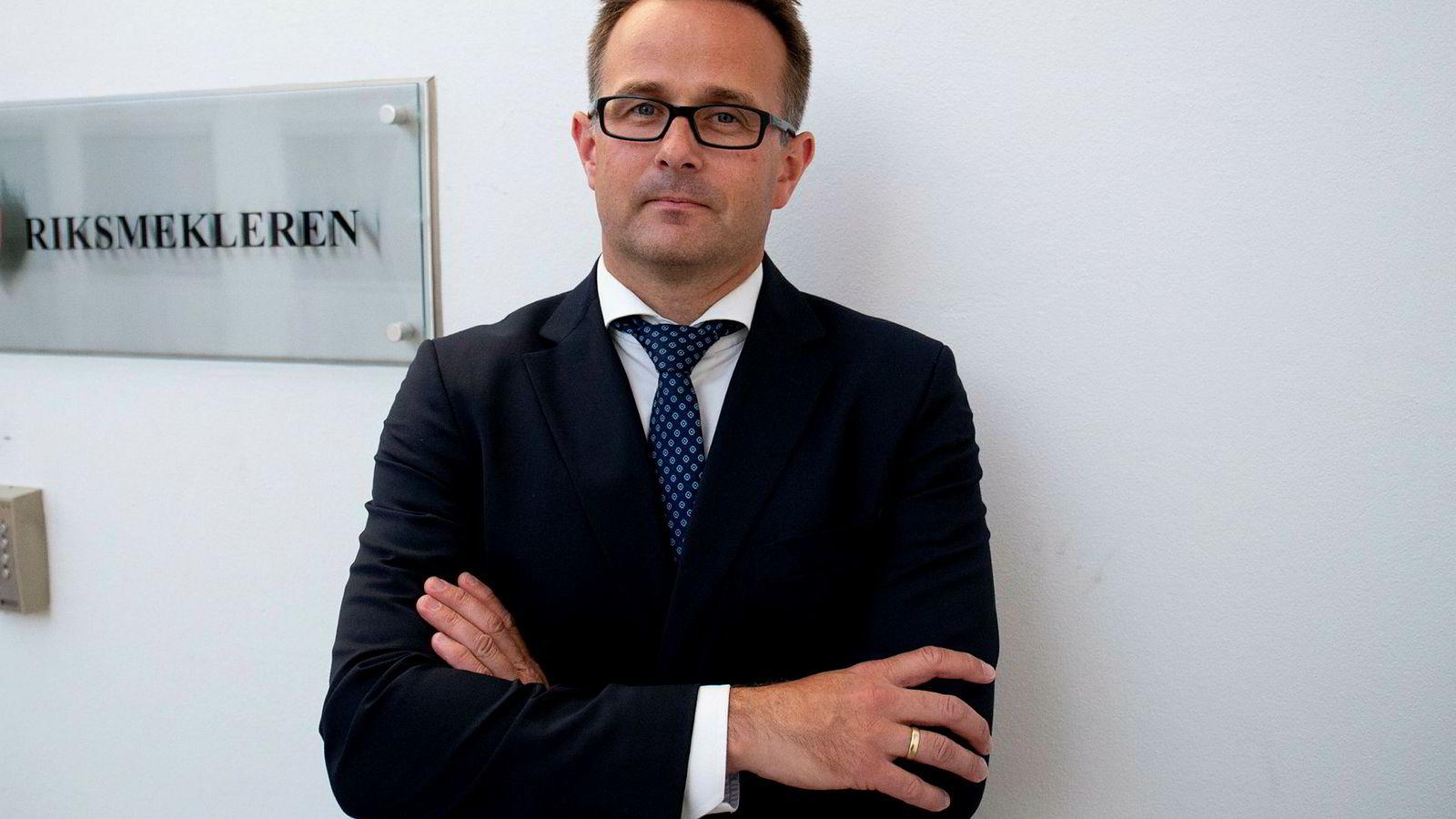 Mats Wilhelm Ruland er oppnevnt som ny riksmekler.