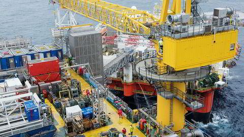 Andre fase her på Johan Sverdrup gjør at anslaget for oljeinvesteringene økes.