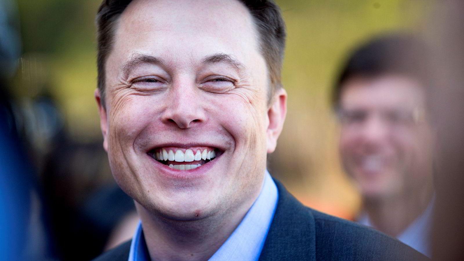 Tesla-sjef Elon Musk