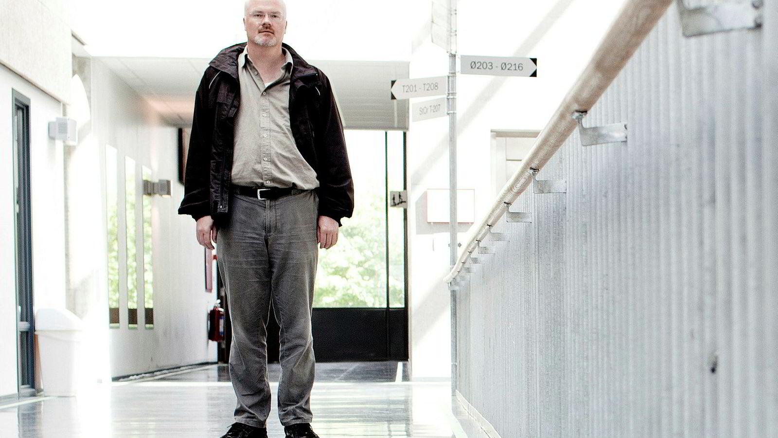 Professor Nils Rune Langeland tapte opsigelsessaken i Oslo tingrett.