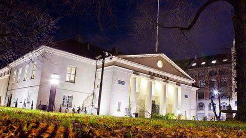 Fall i oljeprisen tynget Oslo Børs onsdag. Foto: Vegard Grøtt /