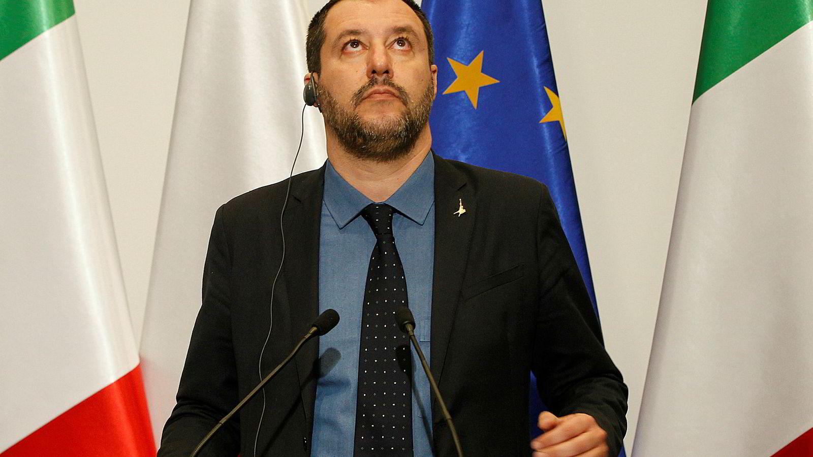Italias innenriksminister Matteo Salvini vil erstatte den dominerende «fransk-tyske-aksen» i Europa.