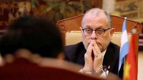 Den argentinske utenriksministeren  Jorge Faurie mener det er viktig å endre WTO.
