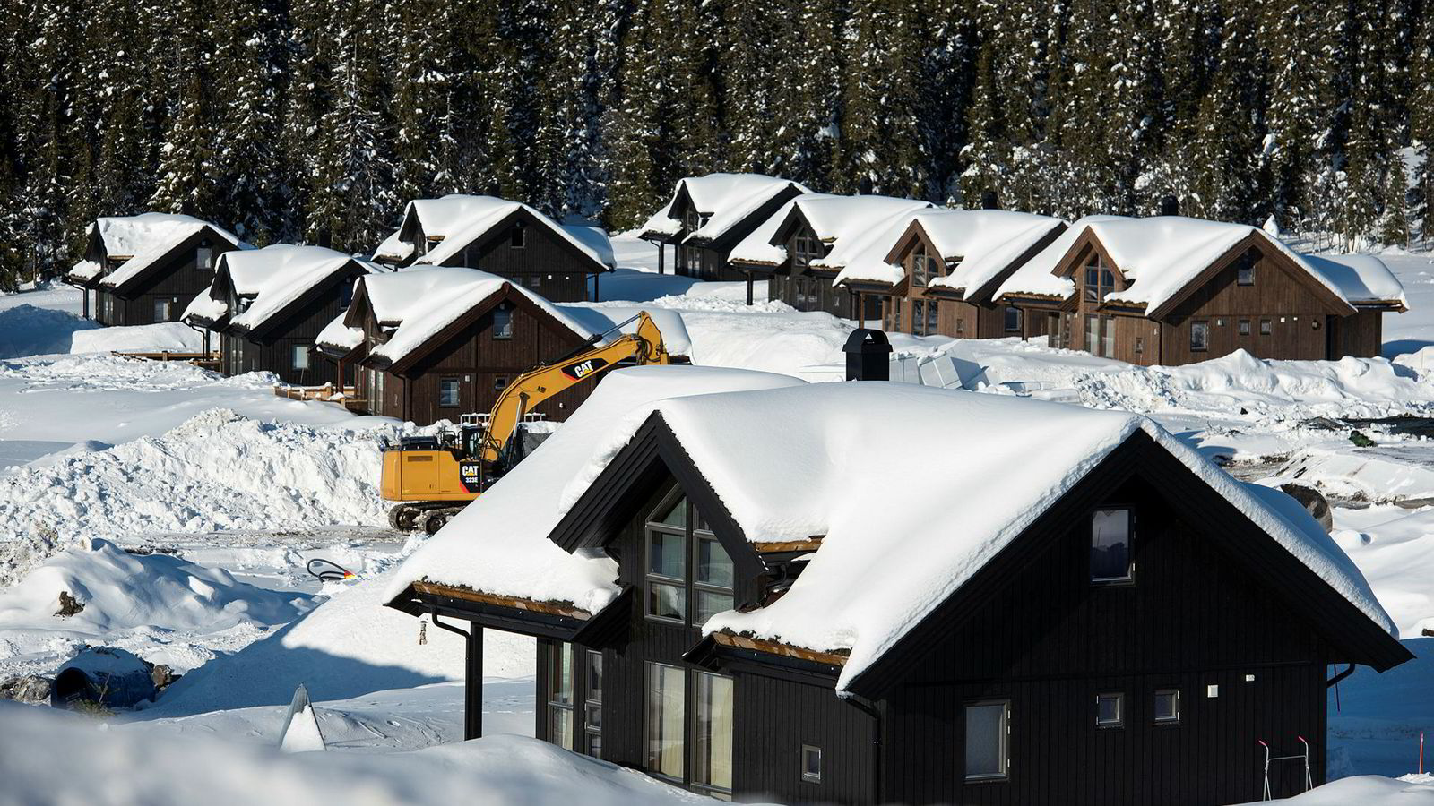Hyttekommunene sikrer seg gode inntekter fra hyttefolket i eiendomsskatt.