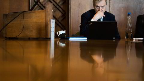 Karl-Johan Bakken i Farstad Shipping har fått utsatt fristen for å forhandle frem en ny gjeldsavtale. Foto: Per Ståle Bugjerde