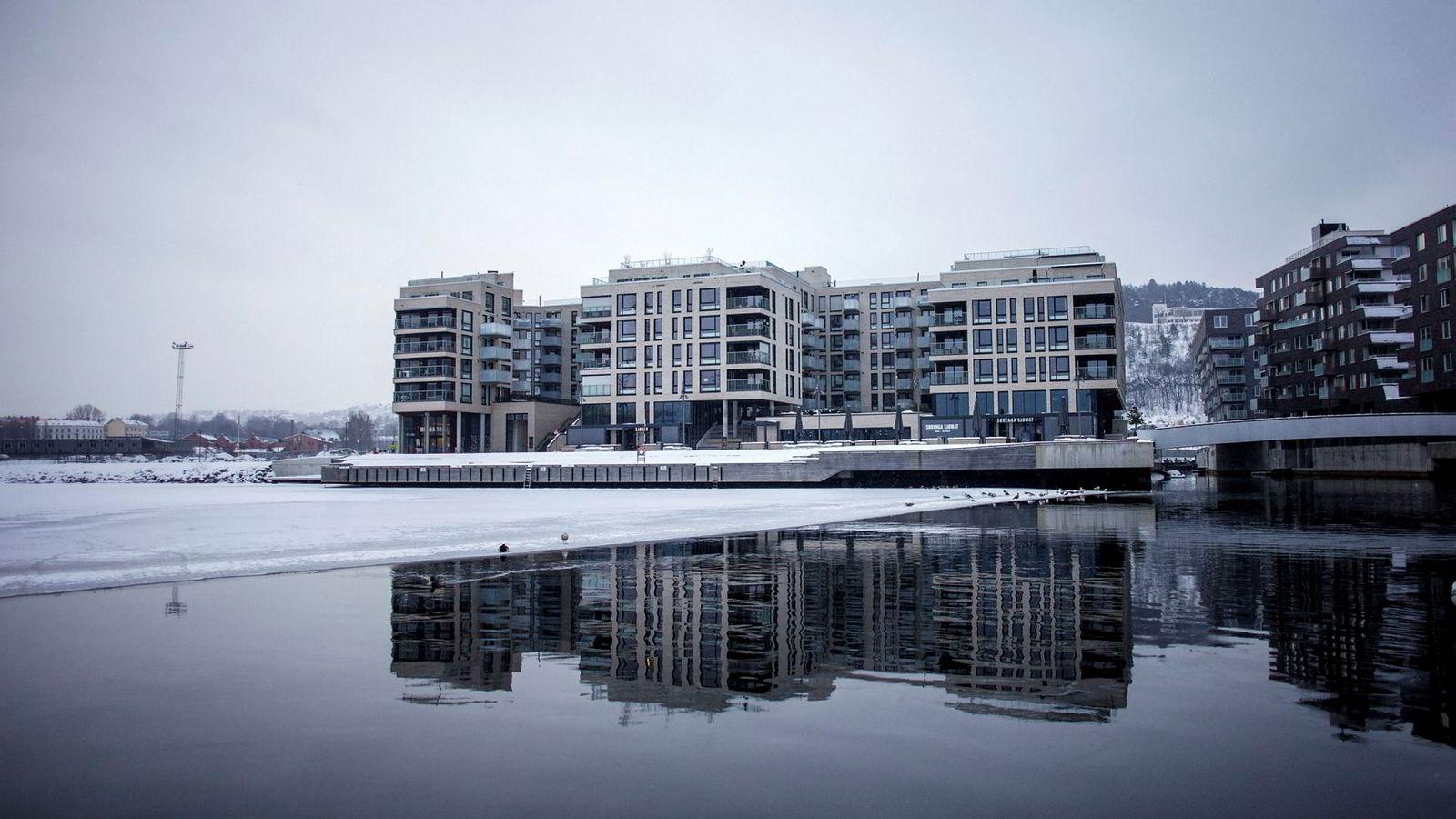 Boliger på Sørenga i Oslo.