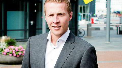 Magnus Olsvik i Swedbank.