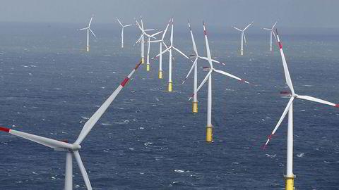 Havvindparken Amruk utenfor Tyskland har produsert vindkraft siden 2015. Det kan tenkes at noe av strømmen du har brukt i år, kommer herfra.