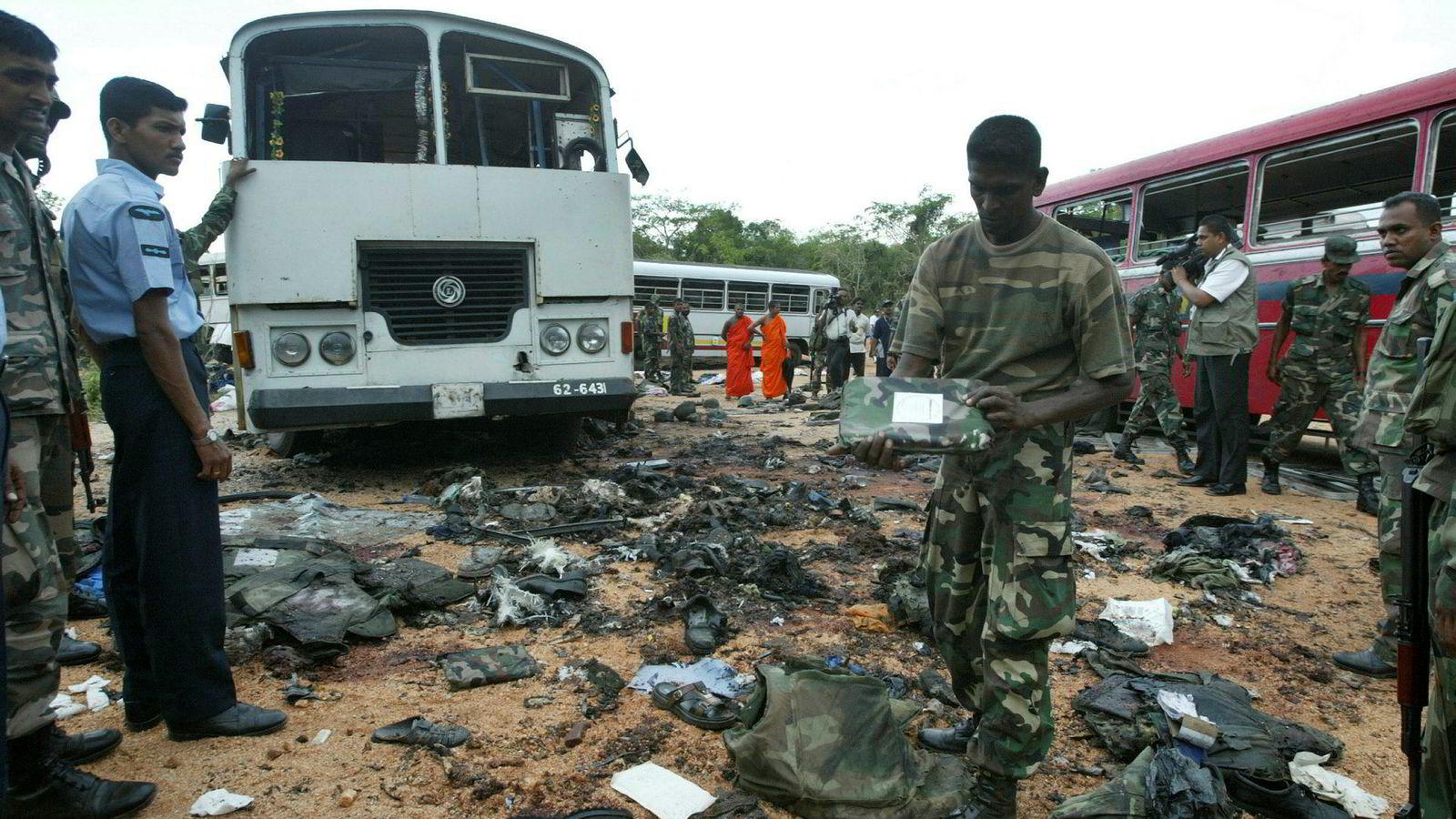 Minst 290 mennesker mistet livet under terrorangrepene på Sri Lanka i påsken.