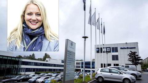Informasjonssjef Anita Svanes iHarald A. Møller AS. Foto. Thomas T. Kleiven/Gunnar Bløndal
