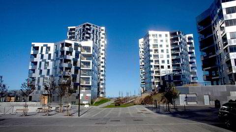 Stavanger kommer til å oppleve boligprisoppgang de neste fire årene, ifølge nye prognoser fra Samfunnsøkonomisk analyse. Bildet er fra Lervig Brygge i Stavanger.