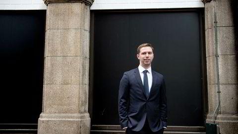 Porteføljeforvalter Alexander Larstedt Lager beholder riggselskapet Odjfell Drilling i porteføljen.