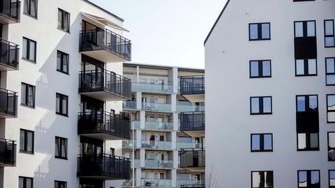 Nye boliger på Løren i Oslo.